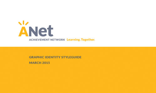 ANet Graphic Identity Styleguide