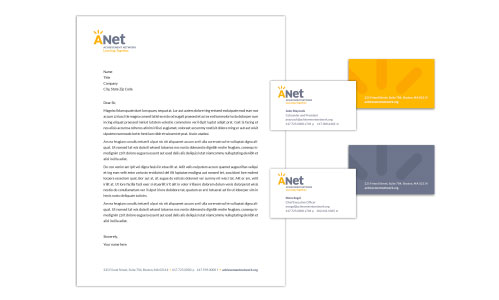 ANet Stationery