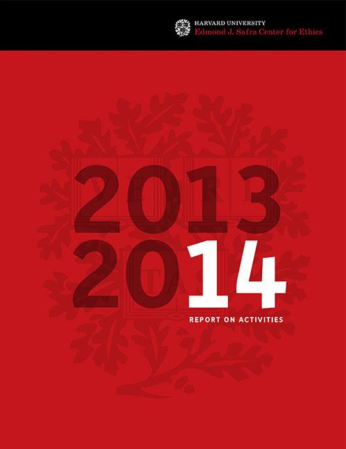 Edmond J. Safra Center 2014 Annual Report