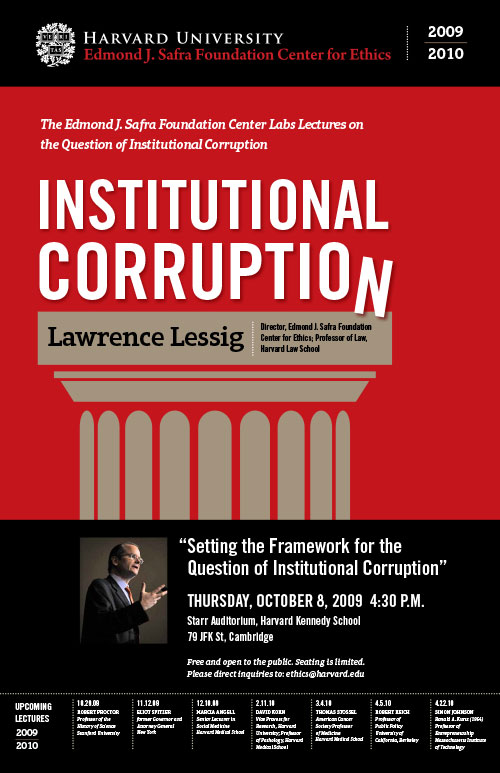 Poster for Lecture Series