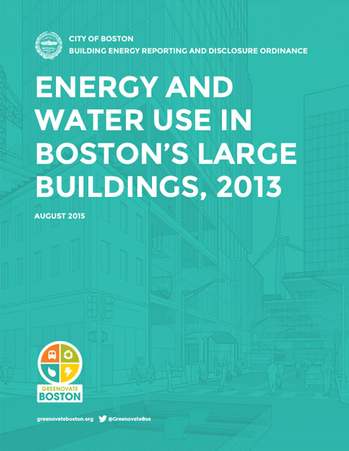 City of Boston—2013 Report on Energy and Water Use in Boston's Large Buildings