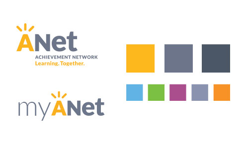 ANet Logos and Color Palette